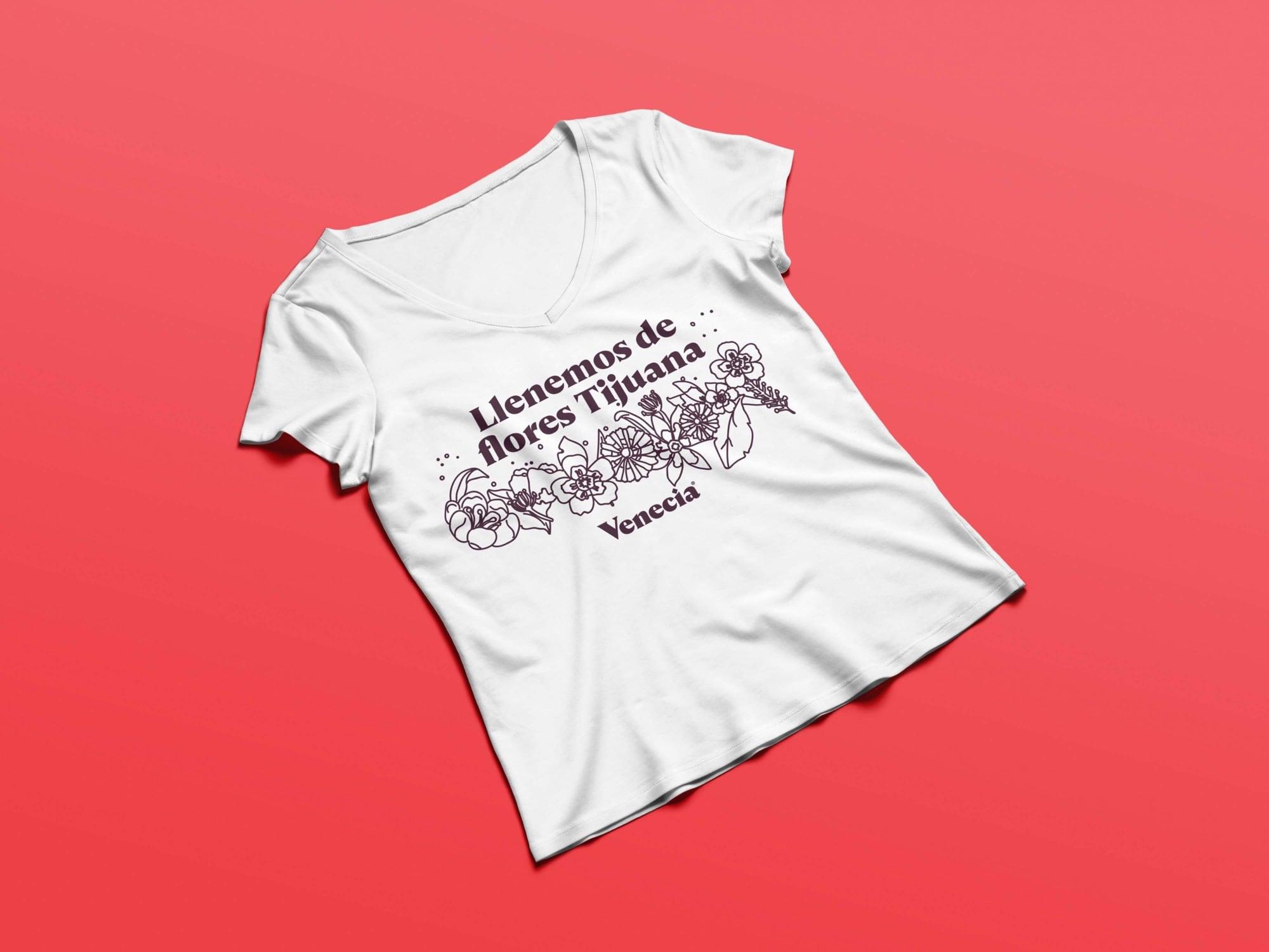 VENECIA-Camiseta simulación 1